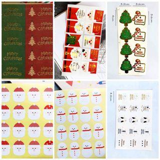 🚚 Sealing sticker label - Christmas series [Instock]