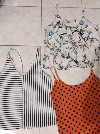 3 for RM12 - polka dots, flora & striped