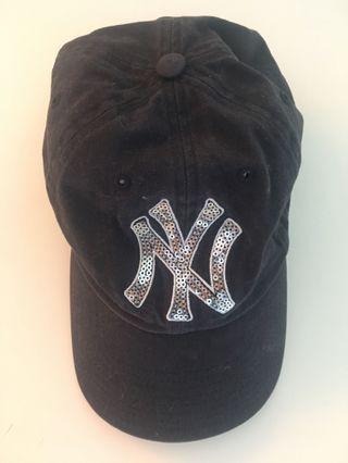 Victoria's Secret MLB Baseball Cap Sequin Logo