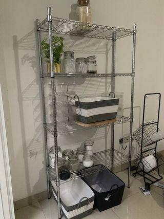Rak stainless Shelf Chrome