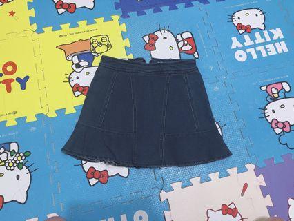 牛仔魚尾裙 M #五折清衣櫃