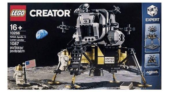 全新 lego 10266 NASA Apollo 11 阿波羅 登月