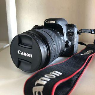 [PRICE REDUCED] Canon 77D EF S18-135 IS USM