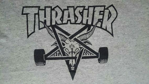 "T-shirt THRASHER Size S Fit M #cek iklan lainnya bagus"" 📢📢"