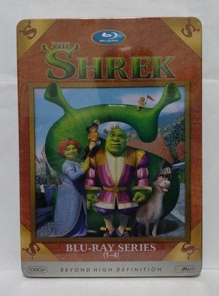 4 Shrek DVD Metal Box Set (China Edition)