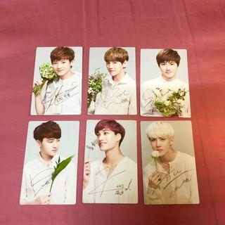 #MGAG101 EXO NATURE REPUBLIC Photocard OFFICIAL