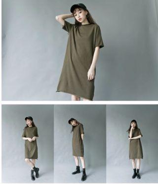 🚚 轉售lulus 捲邊短袖針織洋裝ㄝ