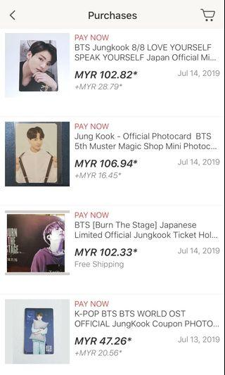 BTS Official Photocard/Ticket Holder