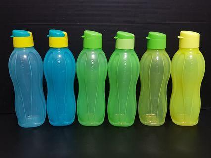 Tupperware Eco Bottle 750ml Flip Top @$12.50