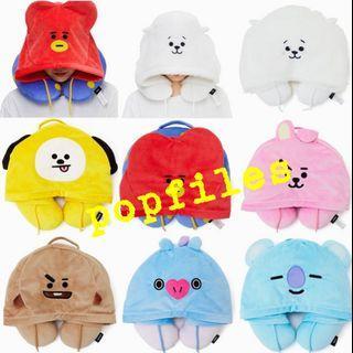 BTS BT21 neck hoodie