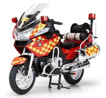 Tiny 1/12 寶馬 消防電單車
