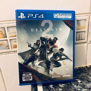 PS4 Destiny 2 (香港行貨) 99%新