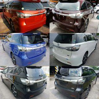 Toyota wish 1.8 s type package
