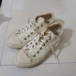 Vintage cream/dirty white Converse All star sneakers