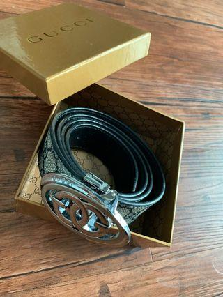 Gucci belt (NEW) two side wearing