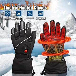 Free Delivery(JG27) Savior Electric Heated Gloves Battery Thermal Warm for Cycling Motorcycle #AmplifyJuly35