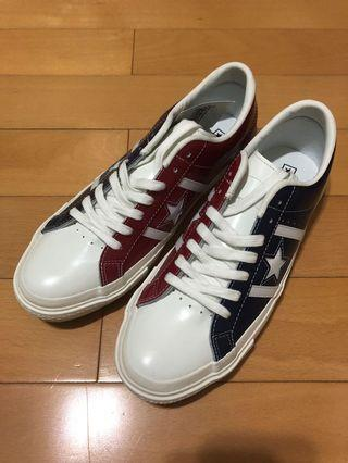 Converse Japan limited edition jack star US 9 one star