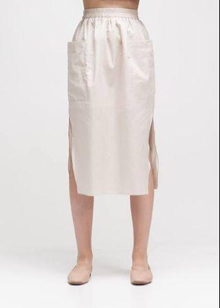 Creme Declan Skirt Ats the Label