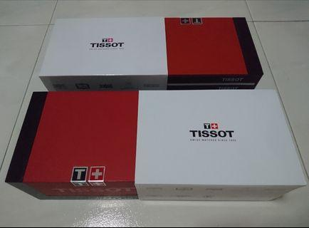Tissot Watch Box with booklet (Complete Set - without watch)