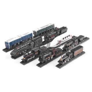 <現貨> 拼裝火車模型 和諧號 勝利號 將軍號 前進 蒸汽火車 仿真拼裝模型 益智玩具 共有9款