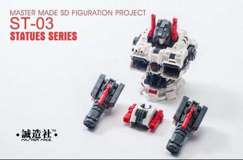 Transformers Master Made Mastermade - ST-03 ST03 Statue Series Add-On Upgrade ( For SDT- 01 SDT01 Titan Mobile City (Metroplex)(MISB)