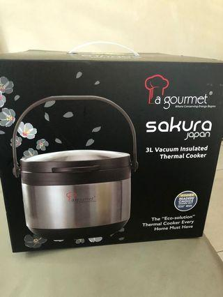 LA GOURMET THERMAL COOKER 3 liters