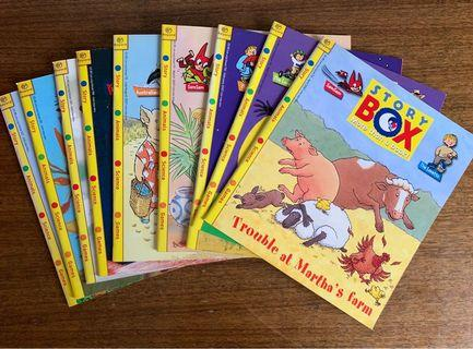 Story Box(110-113/115/119-121/123)9 books