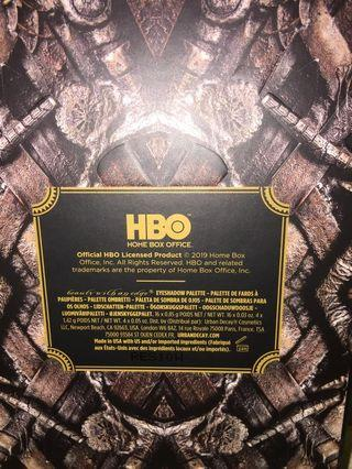 GOT HBO Urban Decay make up set