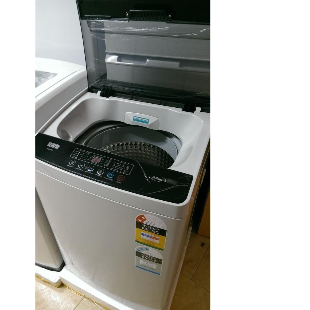 366L Fridge White Colour and 6Kg Washing Machine Package at $899