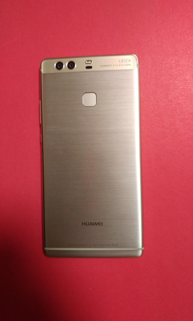 95% gold colour Huawei p9 plus 64gb Rom 4g ram  Duel sim