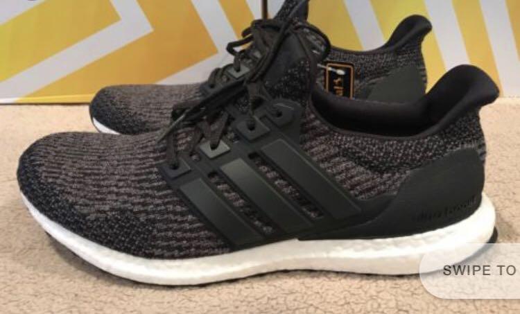 Adidas Ultra Boost 3.0 utility black
