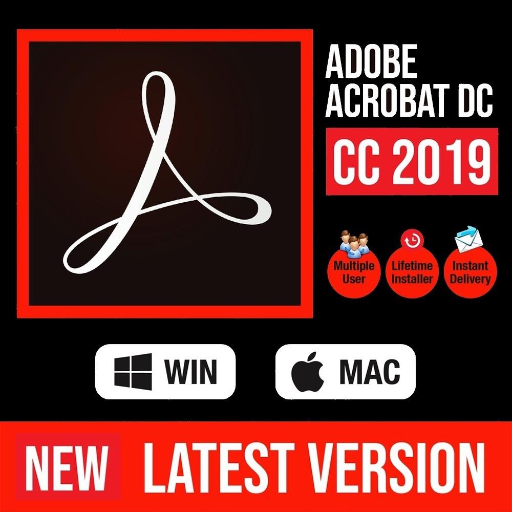 Adobe Acrobat DC Pro 2019 [ Windows ]