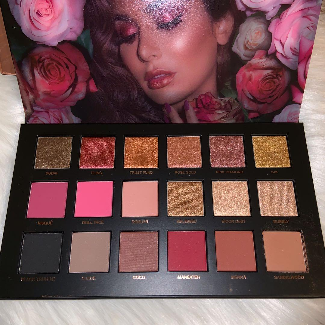 AUTHENTIC HUDA BEAUTY ROSE GOLD REMASTERED PALETTE