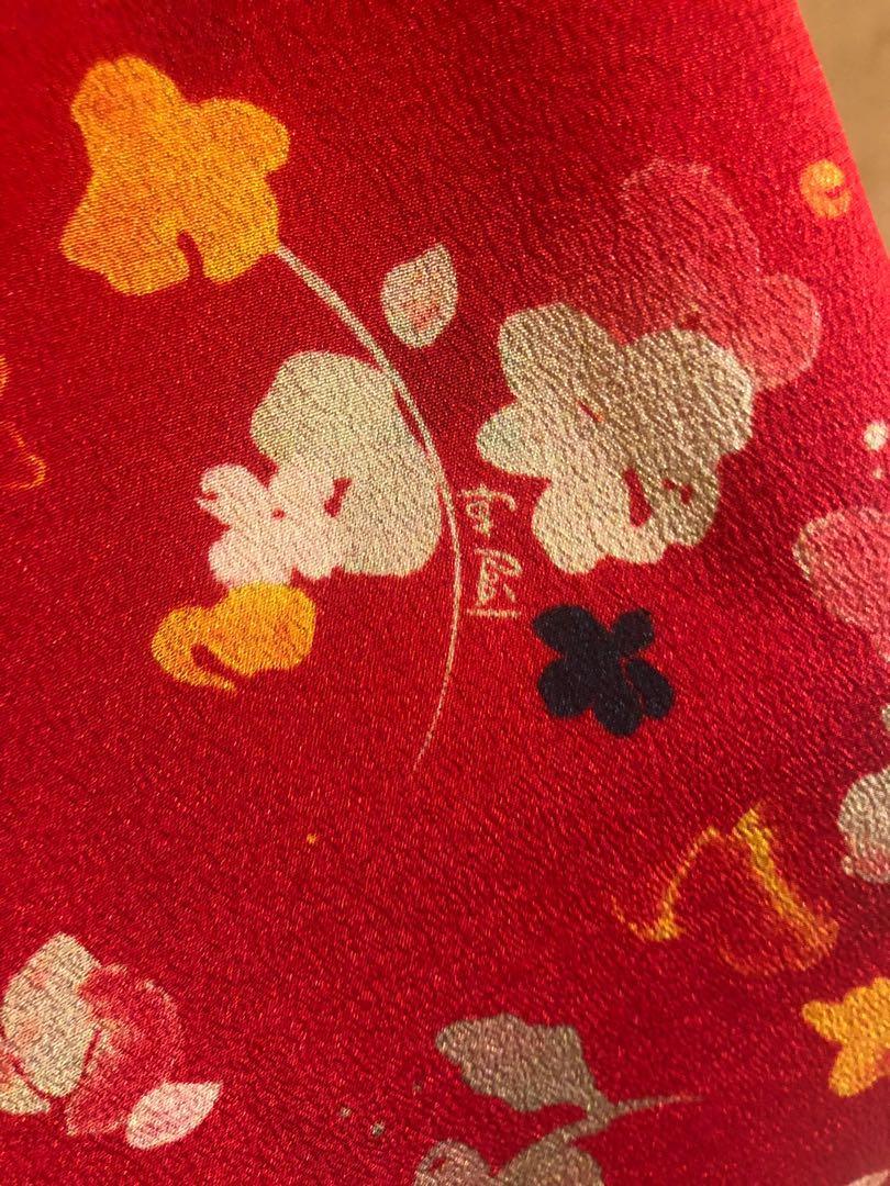 Authentic Realisation Par Juliet Rouge Fleur Size S