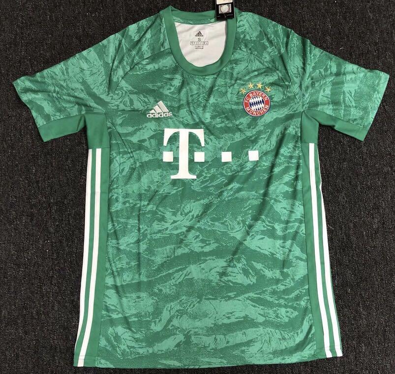 new product cb87c 6b9ed Bayern Munich Goalkeeper Jersey Kit Bayern Munich Jersey 19/20