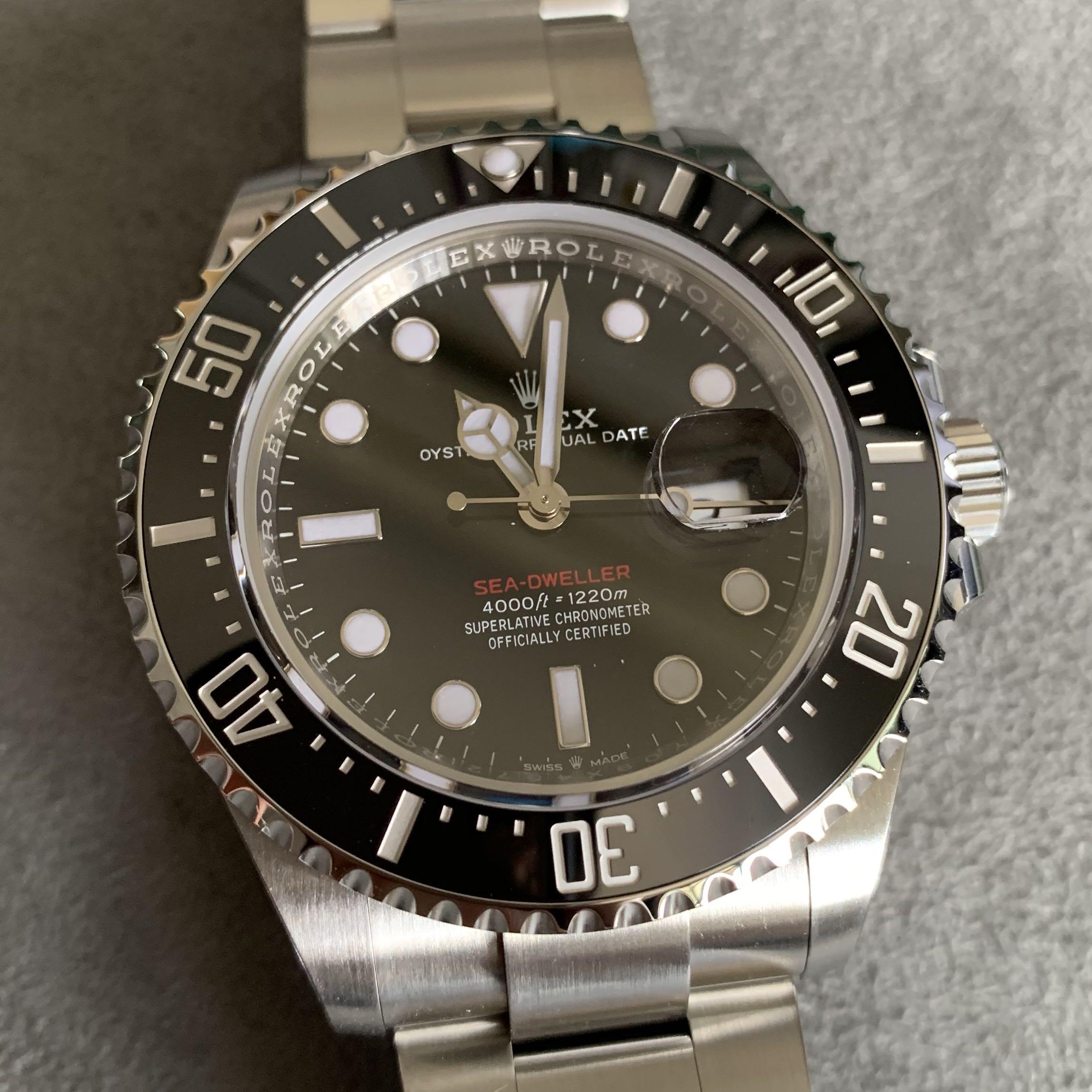 Bnib Rolex Mk2 Red Sea Dweller 126600