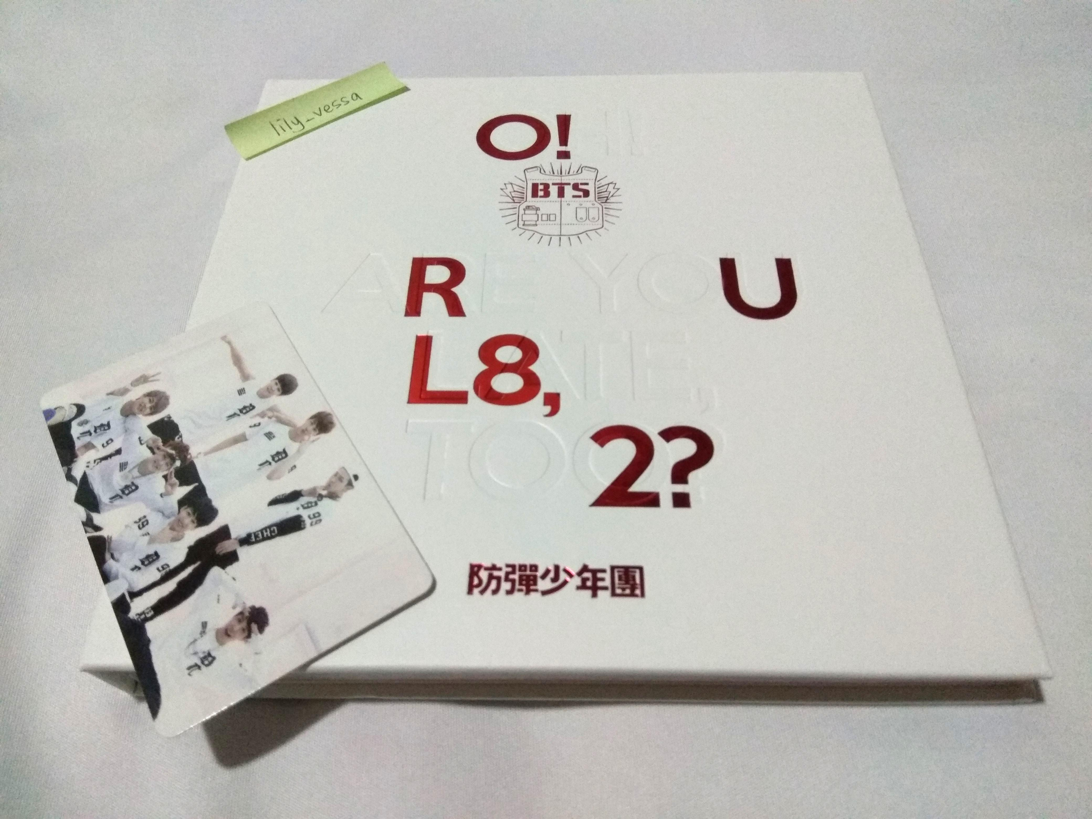 BTS O!RUL8,2? Album with group pc