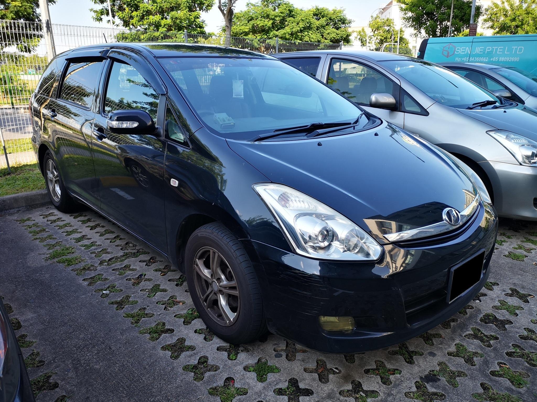 Cheap Grab Car Toyota Wish