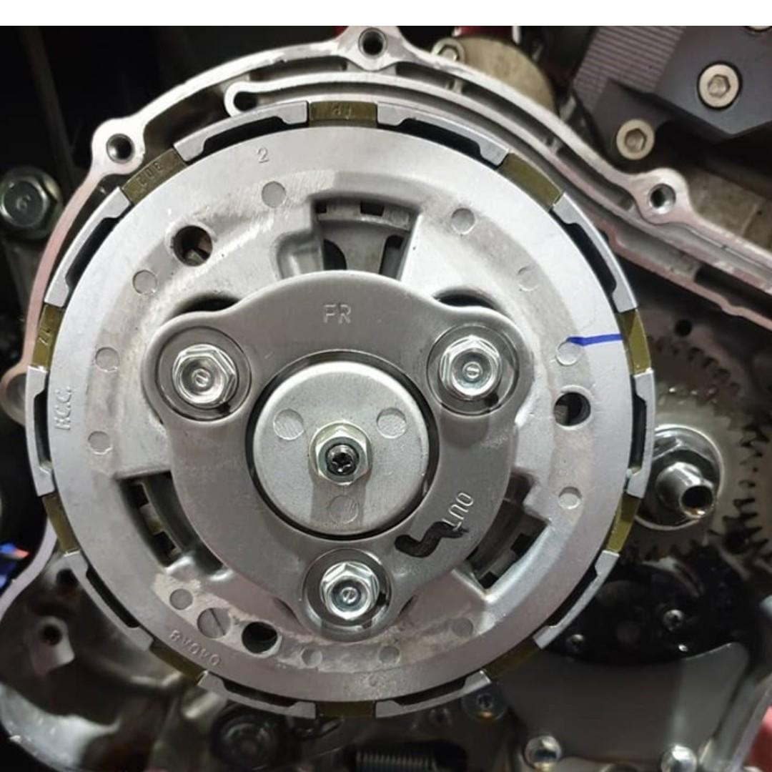 Check it out: Assist and slipper clutch upgrades