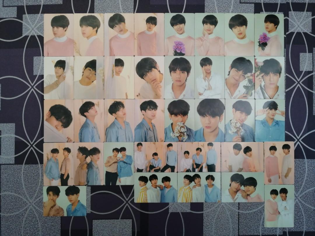 [Clearance] BTS Love Yourself World Tour Unofficial Mini Photocards
