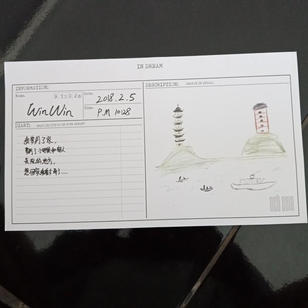 Dairy WINWIN || from Empathy NCT 2018 ~ Dream ver. [ORI]