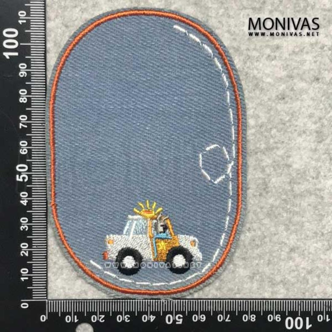 Denim Tow Truck Diy Iron On Patch Hole Covering Decorations Design Craft Others On Carousell