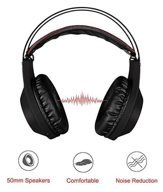 E2735 Nubwo N2 Gaming Headset For Xbox One Ps4 Playstation