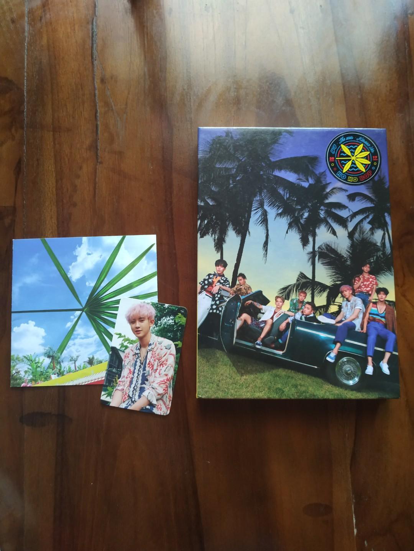 Album EXO The War KOKOBOP (Korean Private Ver.) + PC Chanyeol