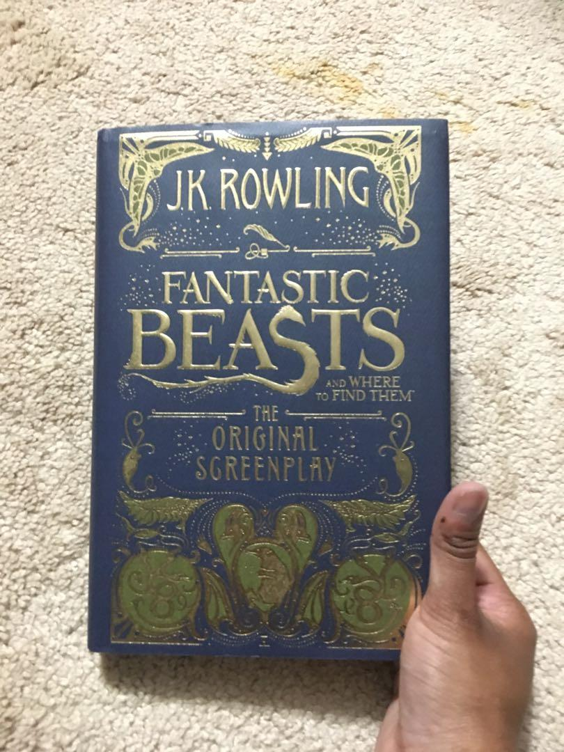 Fantastic Beasts and Where To Find Them- Screenplay