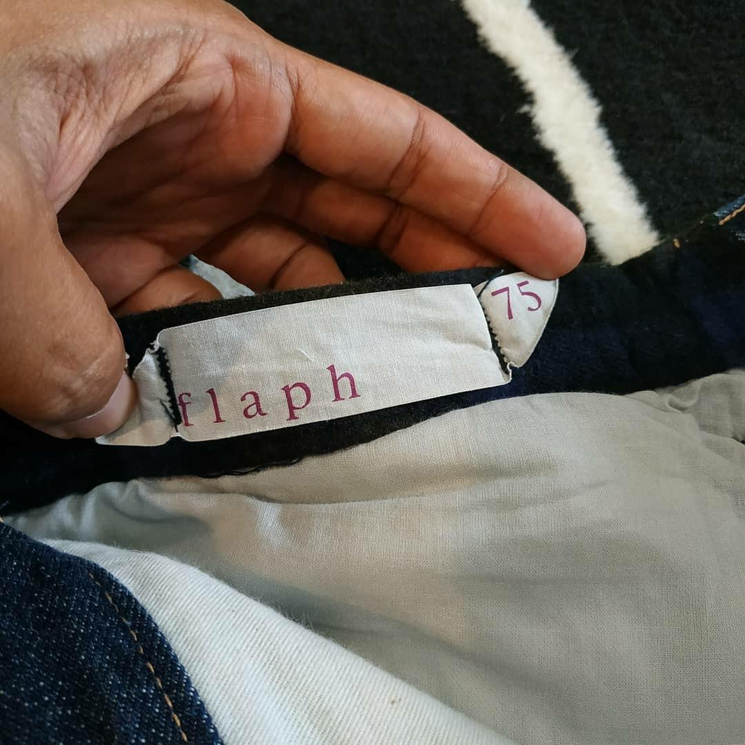 Flaph Two Tone Denim Selvedge Jeans