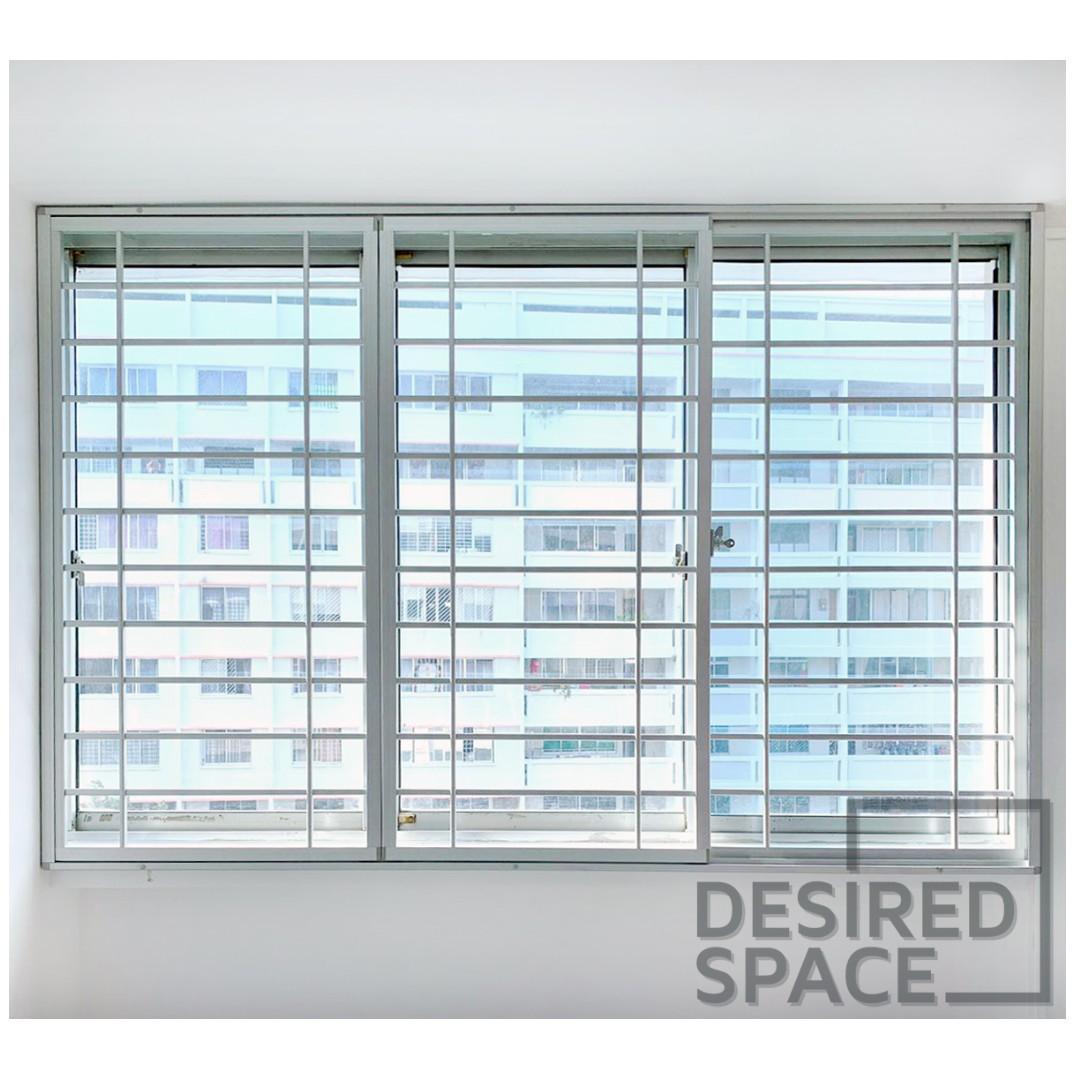 GSS Promo! BTO Window Grilles & Yard Window Bundle