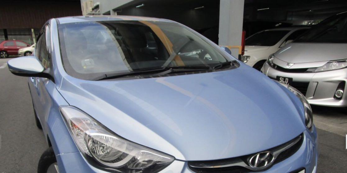 Hyundai Elantra (relief driver) for rental 9pm-7am Mon-Thurs, can do Grab/Gojek