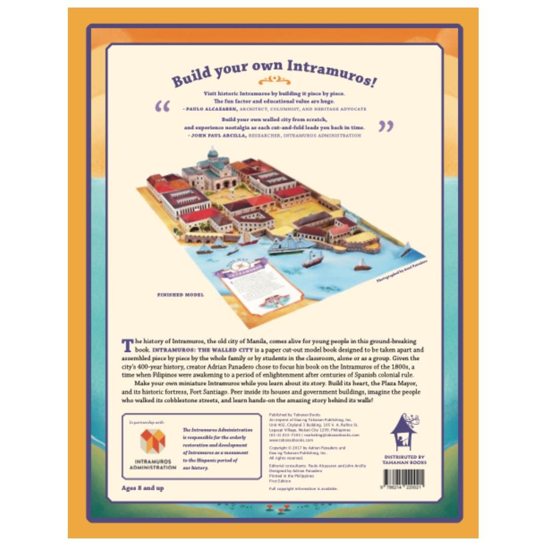 Intramuros: The Walled City,   Cut-and-Build Your Own Model Fort | Tahanan Books | English | Children's Book