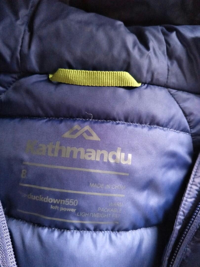 Kathmandu Alptic duck down jacket